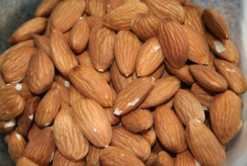 Nut butter made from almonds contains more vitamin E and iron than peanut butter.