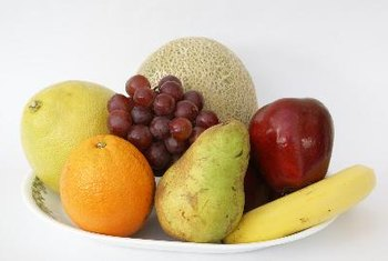 Fresh fruit is typically a bit healthier than canned fruit.