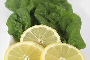 A splash of citrus complements the flavor of New Zealand spinach.