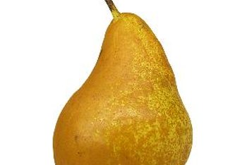 Pears are a nutritious source of fiber.