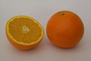 Snacking on an orange provides a big chunk of your required daily vitamin C.