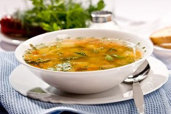 Orzo makes a good addition to soup.
