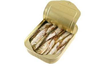 A 1-cup serving of sardines supplies about 37 grams of protein.