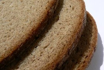 Whole-wheat bread is a nutritious source of fiber.