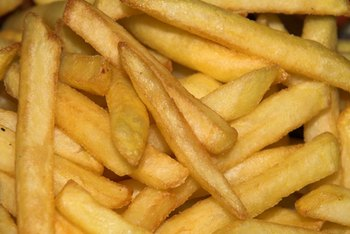 Frozen french fries can be coated with gluten-containing ingredients.