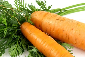 Carrots have sodium, but not very much.
