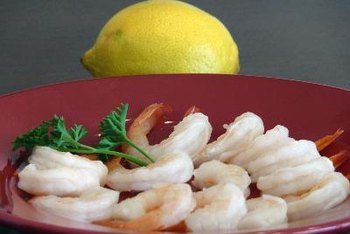Peeled, cooked and deveined shrimp are a great source of protein to toss into any summer meal.