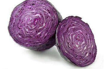 Its color indicates red cabbage is high in vitamin A.