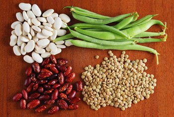 Legumes are excellent sources of nonheme iron.