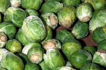 A 1/2-cup serving of Brussels sprouts supplies 2 grams of protein.