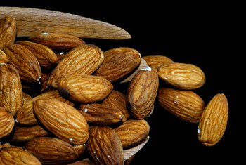 Almonds are healthy in moderation.
