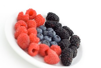 Fiber in berries may boost their antioxidant benefits.