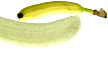 Soft, bland foods like bananas are good for people recovering from food poisoning.