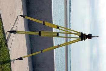 Surveying instruments help to establish precise locations, boundaries and elevations.