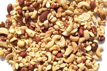 Snack on nuts to get more monounsaturated fats.
