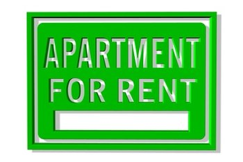 Bankruptcy can make searching for an apartment a daunting task.