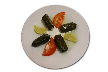Grape leaves are used to make Greek dolmas.