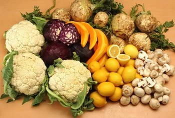 Fruits and vegetables are rich in vitamins and minerals.
