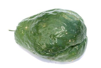 Mirlitons are low-calorie, nutrient-dense types of squash.