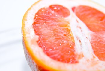 Eating the flesh of a grapefruit has more health benefits than drinking the juice.