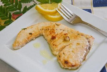 Swordfish fillets are simple to prepare healthfully.