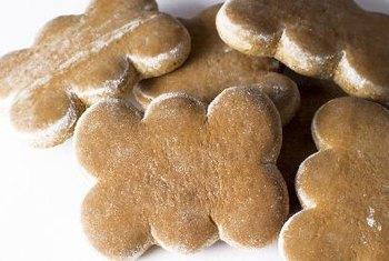Ground ginger is a main ingredient in gingerbread cookies.
