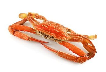 Crab meat is low in saturated fat.