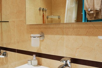 A clean, modern bathroom increases the value of a home.
