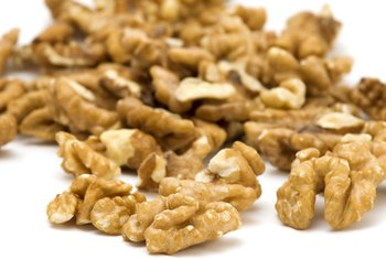 Walnuts are a good source of omega 3 fatty acids.