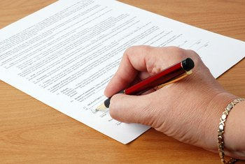 There are a few steps to complete before you sign on the dotted line.