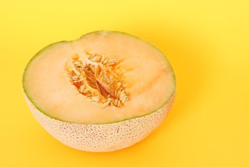 Cantaloupes are low in calories.