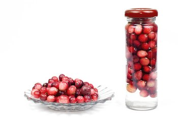 Cranberry juice provides essential vitamins and minerals.