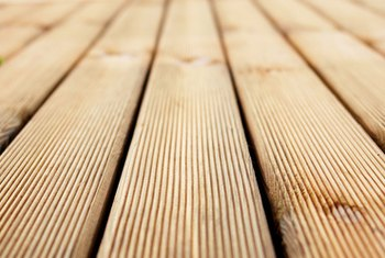 A wood deck recoups over 80 percent of its cost at resale.