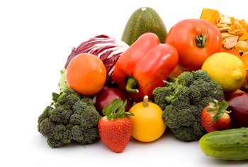 Vegetables are excellent sources of fiber, folate, potassium, vitamins A and C and iron.