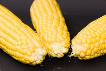 Sweet corn is a side dish option.