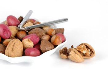Almonds, pecans and walnuts help lower cholesterol.