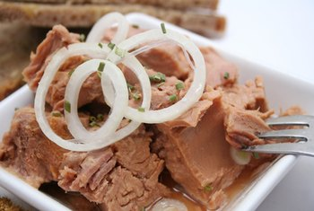 Tuna may help raise HDL levels.