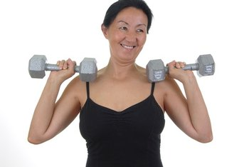 Both dietary protein and weightlifting can help prevent muscle loss.