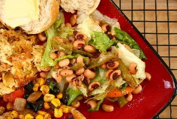 Cowpeas are good additions to salads.