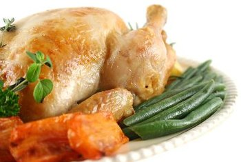 Chicken is a good source of niacin.