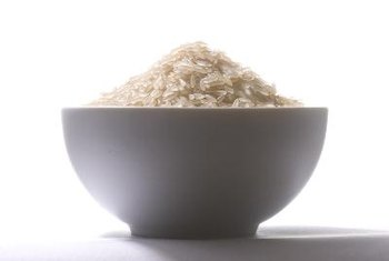 White rice can affect your blood sugar levels.
