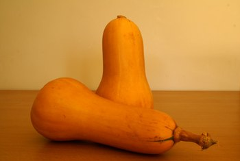 Butternut squash is high in vitamin A and vitamin C.