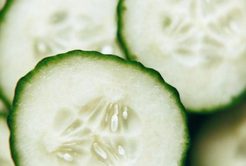 Cucumber and vinegar contain manganese.
