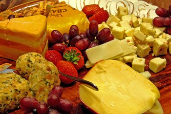 All types of cheese provide vitamin B-12.