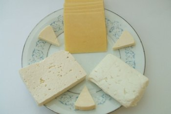 Cheese is high in saturated fat.