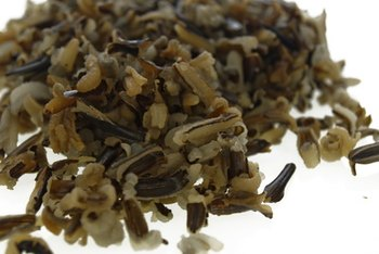 Wild rice is a nutritious substitute for white rice.