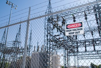 Back-up generators provide electricity in the event of a power outage on the grid.