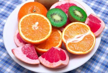 Citrus and tropical fruits are among the best sources of ascorbic acid.