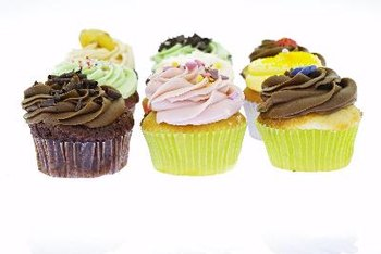 A cupcake can have as much as 5 grams of saturated fat.