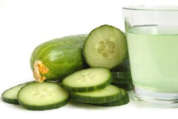 Drink cucumber juice as a source of vitamin K.